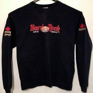 Tops - Hard Rock Cafe Niagara Falls, Canada Sweatshirt L